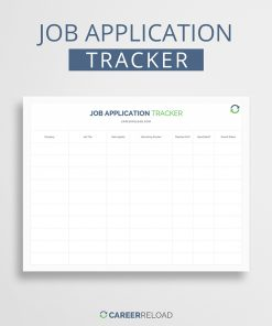 Job application tracker