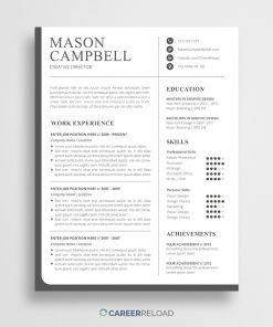 Photoshop resume