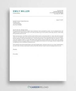 ATS-friendly cover letter